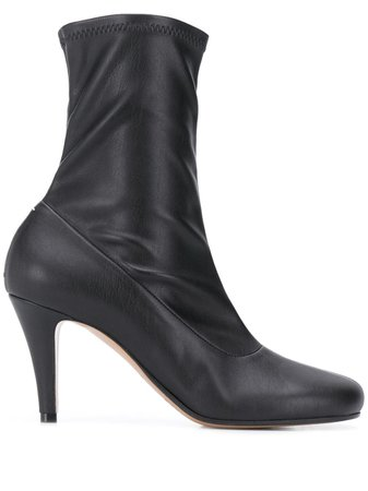 Maison Margiela Leather Sock Boots - Farfetch