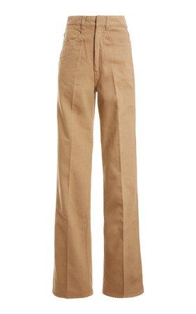 High-Rise Wide-Leg Denim Pants by Lemaire | Moda Operandi