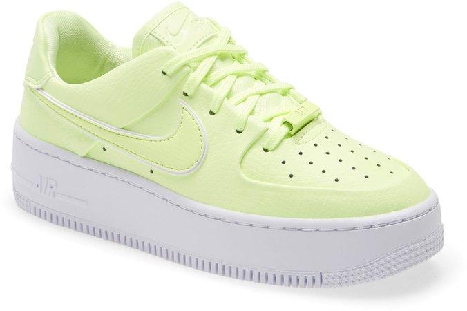 Air Force 1 Sage Low Platform Sneaker