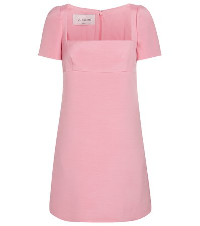 Valentino, Wool and silk-blend minidress