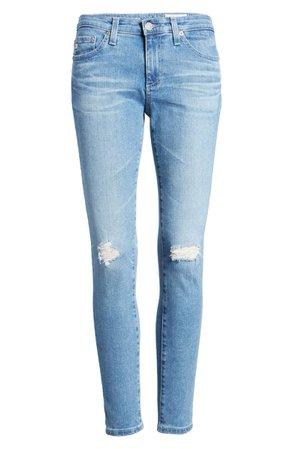 AG The Legging Ankle Super Skinny Jeans (Darjeeling) | Nordstrom
