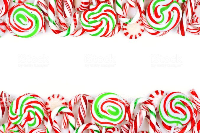 Christmas candy cane background - Christmas recipes 2018