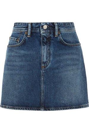 Acne Studios | Mini denim skirt | NET-A-PORTER.COM