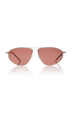 Kallen Aviator-Style Gold-Tone Sunglasses By Oliver Peoples | Moda Operandi