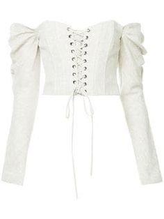 off the shoulder corset top