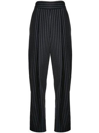 Oscar De La Renta, Pinstriped Trousers Pants