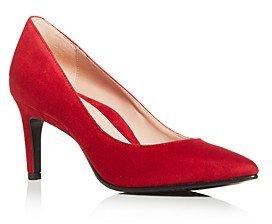 Women's Gabriela Suede Pointed-Toe Pumps