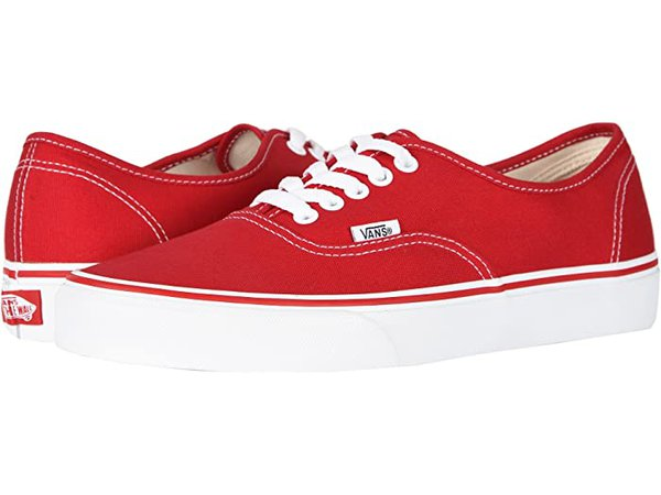 Vans Authentic™ Core Classics red | Zappos.com