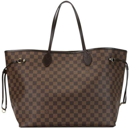 2010 pre-owned Neverfull GM tote bag