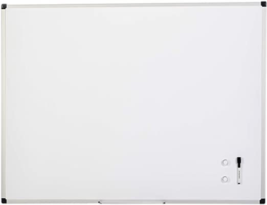 Amazon.com : AmazonBasics Magnetic Framed Dry Erase White Board, 36 x 48 Inch : Office Products