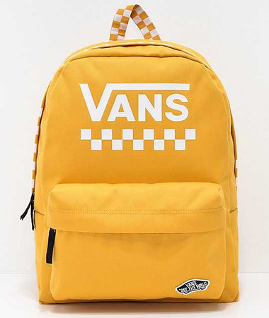 Vans yellow bag