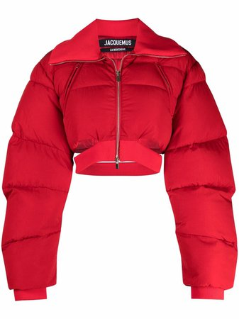 Jacquemus Cropped Padded Jacket - Farfetch