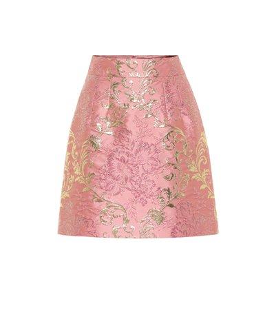 Dolce & Gabbana Brocade lamé miniskirt