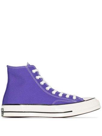 Converse Purple Chuck 70 Vintage Canvas High Top Sneakers 168035C | Farfetch