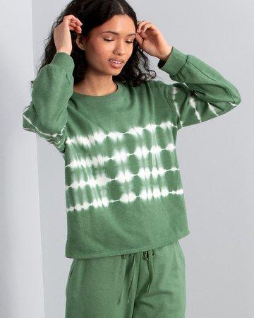 Tie-Dye-Print Sweatshirt