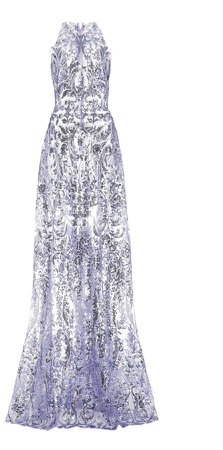Naeem Khan Sequin Gown
