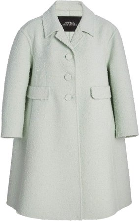 Marc Jacobs Boucle Flared Coat