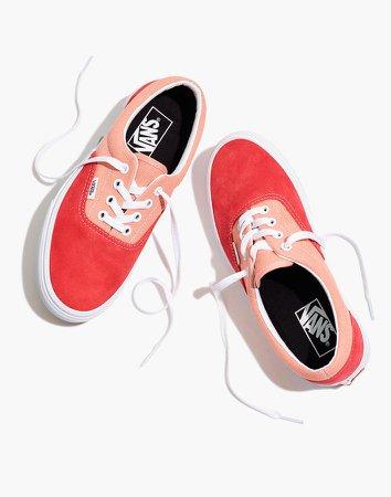 Vans Unisex Vintage Sport Era Lace-Up Sneakers in Pink Colorblock