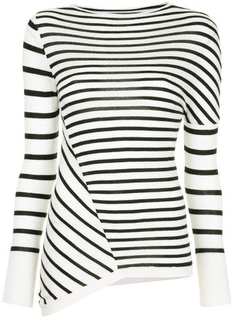 Kitx Street Stripe knit top