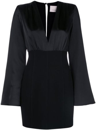 Cinq A Sept Sandy Contrast Mini Dress - Farfetch