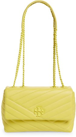 Kira Chevron Quilted Leather Crossbody Bag