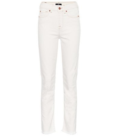 Erin high-rise straight jeans