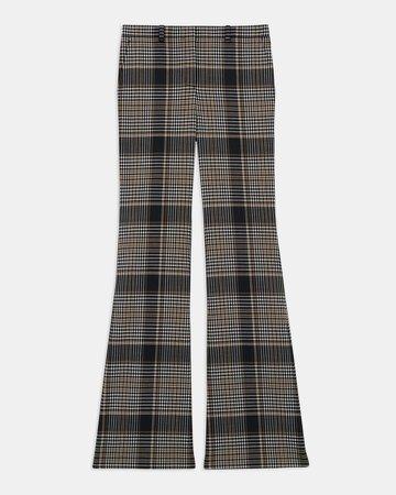 Demitria Pant in Plaid Wool
