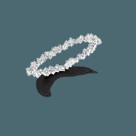 Threads Small Bracelet, Diamond | Graff