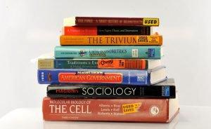 textbook stacks