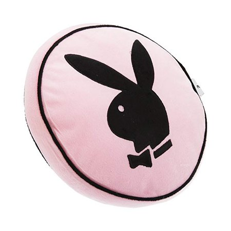 Playboy Bunny round Cushion Pink (14 x 14 inch) (Pink): Amazon.co.uk: Kitchen & Home