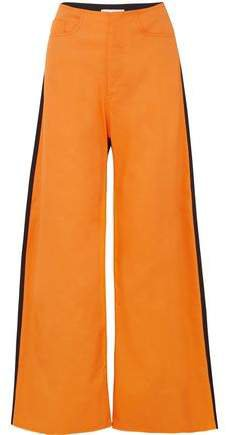 Marques' Almeida Two-tone Drill Wide-leg Pants