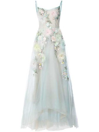 Marchesa Notte Embellished Ball Gown