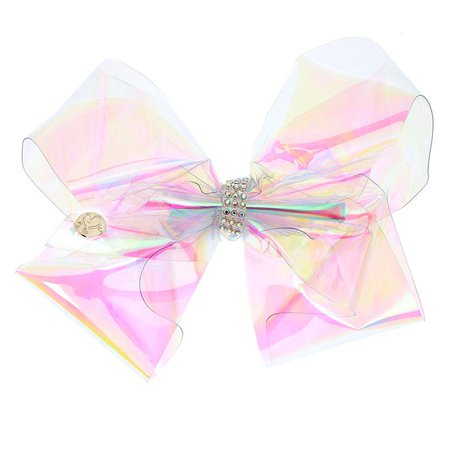 JoJo Siwa™ Large HOLA-graphic Crystal Signature Hair Bow | Claire's US