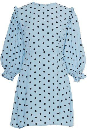 Edwina Polka Dot Print Dress