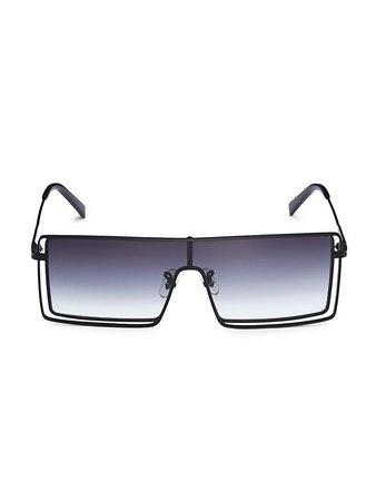 Zeus + Dione Cosmo 131MM Mask Sunglasses   SaksFifthAvenue