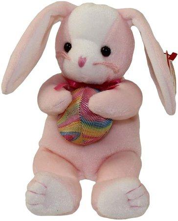 Amazon.com: Ty Beanie Babies Eggerton Bunny Rabbit Holding Easter Egg: Toys & Games