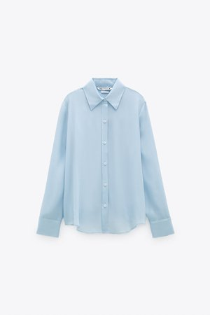 SILK BLOUSE | ZARA United States