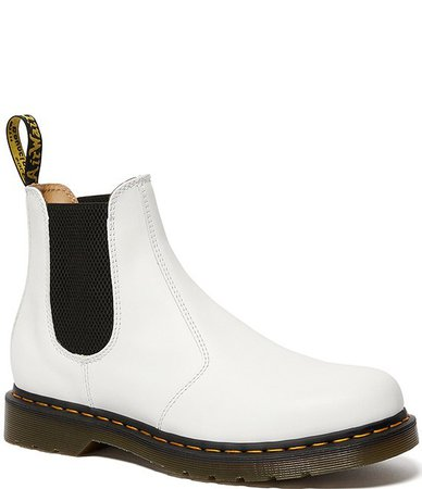 Dr. Martens Women's 2976 YS Smooth Leather Chelsea Booties | Dillard's