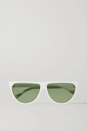 White Cat-eye acetate sunglasses | Loewe | NET-A-PORTER