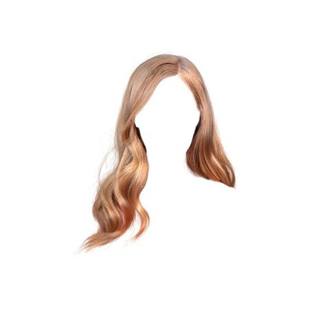 doll hair png blonde