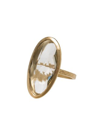 5 Octobre gold-plated Ara Oval Ring - Farfetch