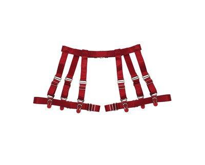 Jalyne Garter Belt ( Red ) · CREEPYYEHA · Online Store Powered by Storenvy