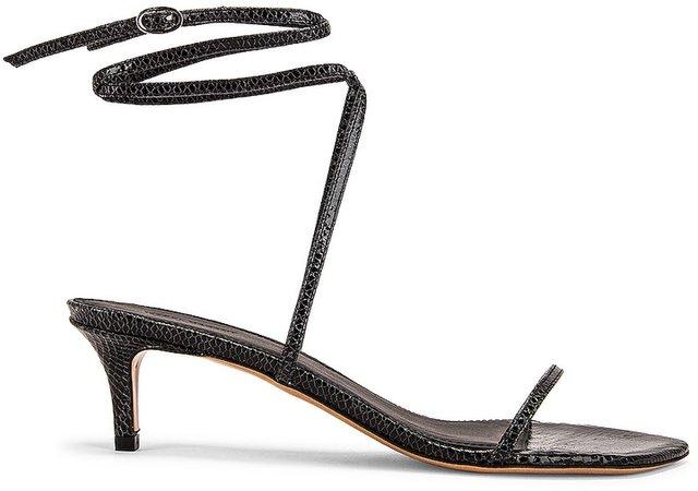 Aridee Sandal in Black   FWRD