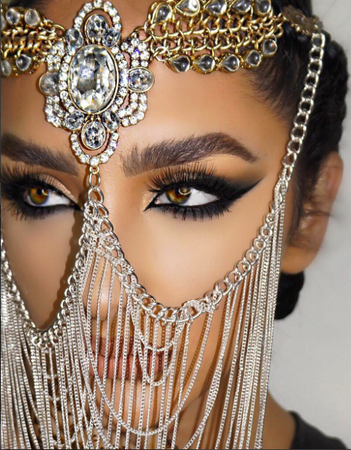 Arabic Gold Headpiece