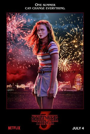 "New Set of ""Stranger Things"" Season 3 Poster Art Brings Fourth of July Fireworks to Hawkins - Bloody Disgusting"