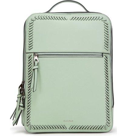 Calpak Kaya Faux Leather Laptop Backpack   Nordstrom