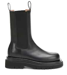 Leather Ankle Boots - Bottega Veneta | Mytheresa