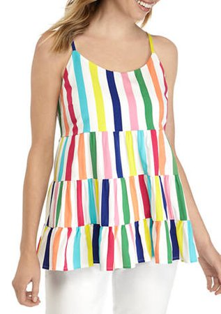 Crown & Ivy™ Women's Sleeveless Layered Tank