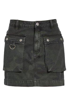 Ksubi Equaliser Camo Denim Skirt | Nordstrom