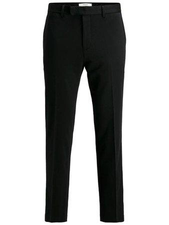 MINIMALIST STRETCH DRESS PANTS | BLACK